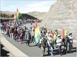 Potosi protestors