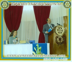 Click to view David's speech at Dist 4690 Rotary Convention 2013